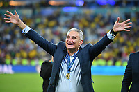 (190708) -- RIO DE JANEIRO, July 8, 2019 -- Brazil s head coach Tite greets the fans after the Copa America 2019 final match between Brazil and Peru, held in Rio de Janeiro, Brazil, July 7, 2019. Brazil won 3-1. ) (SP)BRAZIL-RIO DE JANEIRO-FOOTBALL-COPA AMERICA 2019-FINAL-BRAZIL VS PERU XinxYuewei PUBLICATIONxNOTxINxCHN  <br /> Coppa America 2019 Finale<br /> Foto Imago/Insidefoto