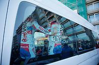3 Days of De Panne.stage 1: Middelkerke - Zottegem..Rusvelo teambus