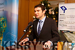 Minister Brendan Griffin TD at the IDA announcement at the Ballygarry House Hotel on Monday on the news of 100 jobs created by Central Pharma.