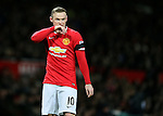 Wayne Rooney of Manchester United - FA Cup Fourth Round replay - Manchester Utd  vs Cambridge Utd - Old Trafford Stadium  - Manchester - England - 03rd February 2015 - Picture Simon Bellis/Sportimage