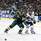 Josh Burrows (Vermont - 22), Nick Jaskowiak (Yale - 5) - The University of Vermont Catamounts defeated the Yale University Bulldogs 4-1 in their NCAA East Regional Semi-Final match on Friday, March 27, 2009, at the Bridgeport Arena at Harbor Yard in Bridgeport, Connecticut.