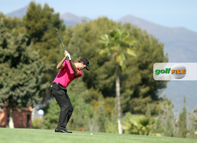 Adrien Bernadet (FRA) on the 9th on Day 3 of the 2012 Open de Andalucia Costa del Sol at Aloha Golf Club, Marbella, Spain...(Photo Jenny Matthews/www.golffile.ie)