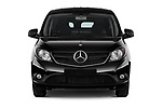 Car photography straight front view of a 2017 Mercedes Benz Citan Perfect-Tool 5 Door Cargo Van Front View
