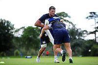 David Sisi of Bath Rugby in action. Bath Rugby pre-season training session on August 9, 2016 at Farleigh House in Bath, England. Photo by: Patrick Khachfe / Onside Images