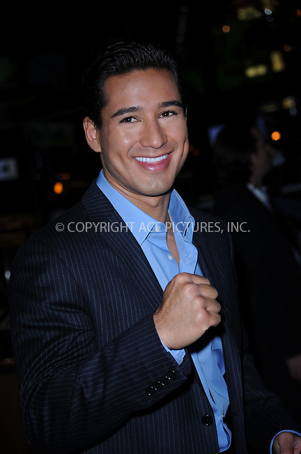 WWW.ACEPIXS.COM . . . . . ....October 13 2009, New York City....Actor Mario Lopez was seen walking through Times Square on October 13 2009 in New York City....Please byline: KRISTIN CALLAHAN - ACEPIXS.COM.. . . . . . ..Ace Pictures, Inc:  ..(212) 243-8787 or (646) 679 0430..e-mail: picturedesk@acepixs.com..web: http://www.acepixs.com