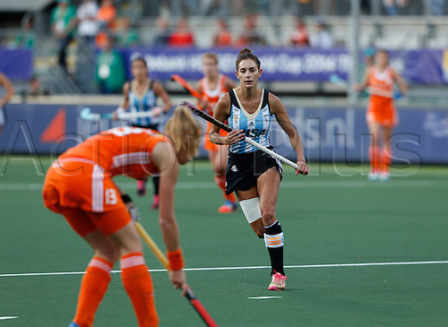 12.06.2014. The hague, Netherlands.  Luciana Aymar - Netherlands versus Argentina, semi-final Womens  Rabobank Hockey World Cup 2014. The game ended 4-0 with Netherlands making the final