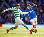 12.05.2019 Rangers v Celtic: Oliver Burke and Steven Davis