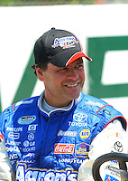 Apr 25, 2009; Talladega, AL, USA; NASCAR Nationwide Series driver Michael Waltrip prior to the Aarons 312 at the Talladega Superspeedway. Mandatory Credit: Mark J. Rebilas-