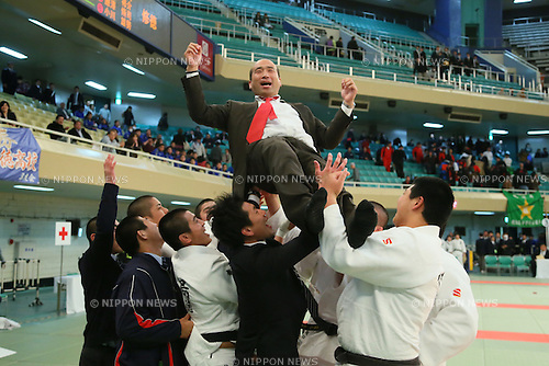 Junji Omori (Shutoku), <br /> MARCH 21, 2014 - Judo : <br /> The 36th All Japan High School Judo Tournament <br /> Men's Team <br /> at Nippon Budokan, Tokyo, Japan. <br /> (Photo by YUTAKA/AFLO SPORT) [1040]