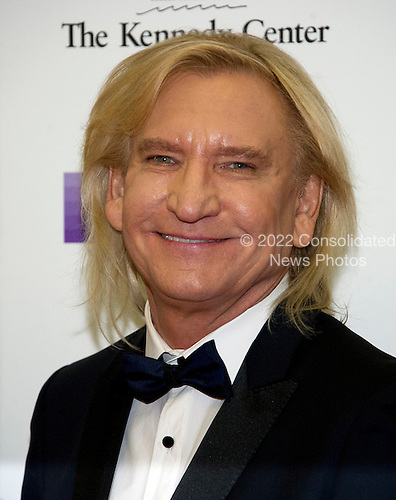 """Joe Walsh of the rock band """"The Eagles"""" arrives for the formal Artist's Dinner honoring the recipients of the 39th Annual Kennedy Center Honors hosted by United States Secretary of State John F. Kerry at the U.S. Department of State in Washington, D.C. on Saturday, December 3, 2016. The 2016 honorees are: Argentine pianist Martha Argerich; rock band the Eagles; screen and stage actor Al Pacino; gospel and blues singer Mavis Staples; and musician James Taylor.  <br /> Credit: Ron Sachs / Pool via CNP"""