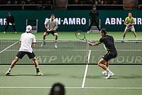ABNAMRO World Tennis Tournament, 16 Februari, 2018, Rotterdam, The Netherlands, Ahoy, Tennis, Damir Dzumhur (BIH) / Filip Krajinovic (SRB), Mate Pavic (CRO) / Oliver Marach (AUT)<br /> <br /> Photo: www.tennisimages.com