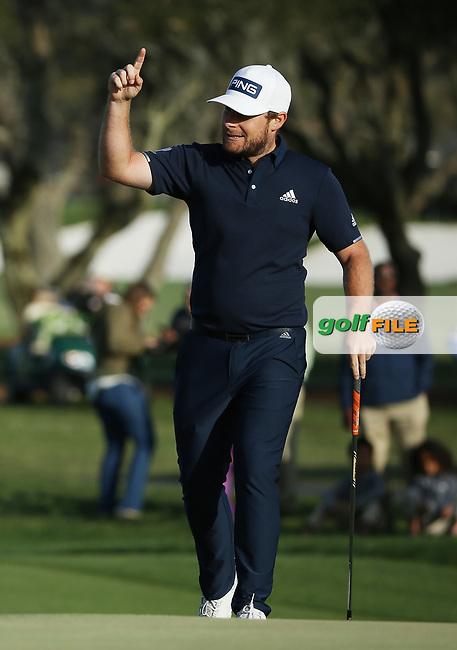 Tyrrell Hatton (ENG) during the 3rd round of the Arnold Palmer Invitational presented by Mastercard, Bay Hill, Orlando, Florida, USA. 07/03/2020.<br /> Picture: Golffile   Scott Halleran<br /> <br /> <br /> All photo usage must carry mandatory copyright credit (© Golffile   Scott Halleran)