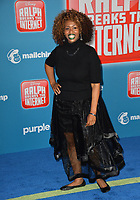 "LOS ANGELES, CA. November 05, 2018: GloZell Green at the world premiere of ""Ralph Breaks The Internet"" at the El Capitan Theatre.<br /> Picture: Paul Smith/Featureflash"