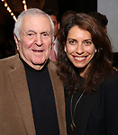 John Kander and Sarah Stern attends the Vineyard Theatre's Annual Emerging Artists Luncheon at The National Arts Club on June 6, 2017 in New York City.