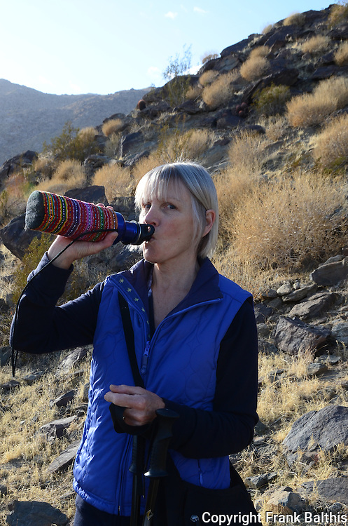 Hydrating on Museum Trail