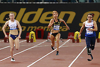 Maria Lyle ITA, Oxana Corso ITA, Sophie  Kamlish GBR Winner 100m Women Paralympic  <br /> Roma 02-06-2016 Stadio Olimpico.<br /> IAAF Diamond League 2016<br /> Atletica Legera <br /> Golden Gala Meeting - Track and Field Athletics Meeting<br /> Foto Cesare Purini / Insidefoto