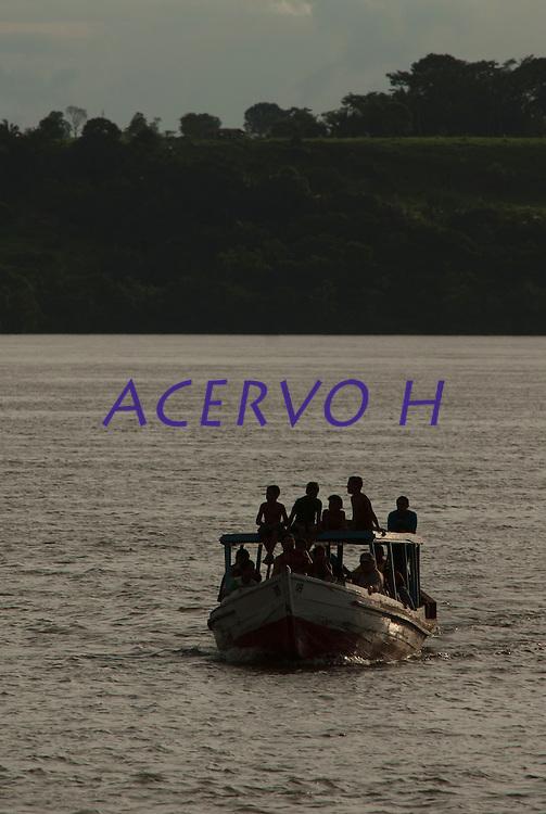 Orla da cidade.<br /> Marabá, Pará, Brasil.<br /> Foto Paulo Santos<br /> 02/04/2010