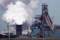 Nederland IJmuiden 2019.  Tata Steel, de vroegere Hoogovens. Foto Berlinda van Dam / Hollandse Hoogte