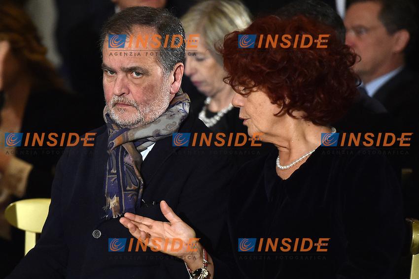 Roberto Calderoli <br /> Roma 03-02-2015 Quirinale <br /> Insediamento Presidente della Repubblica italiana. Newly elected President of italian Republic <br /> Foto Andrea Staccioli / Insidefoto
