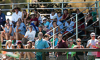 STANFORD, CA - SEPTEMBER 6: Field Hockey fans support Stanford against Michigan State on September 6, 2010 in Stanford, California.