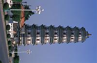 Chongxi Ta Pagoda in ZhaoQing city, Guangdong Province, China. .2004