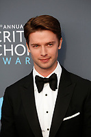 Patrick Schwarzenegger attend the 23rd Annual Critics' Choice Awards at Barker Hangar in Santa Monica, Los Angeles, USA, on 11 January 2018. Photo: Hubert Boesl - NO WIRE SERVICE - Photo: Hubert Boesl/dpa /MediaPunch ***FOR USA ONLY***