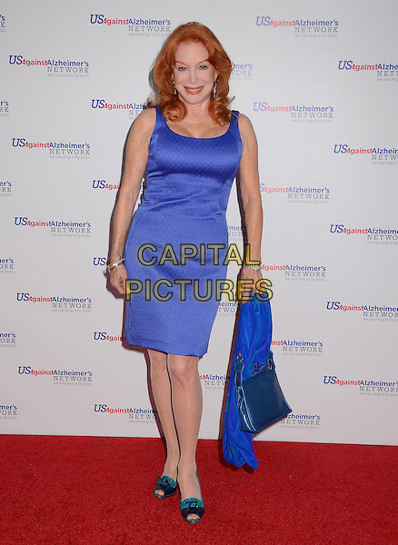Sondra Currie<br /> Los Angeles premiere of &quot;Surviving Grace&quot; at the Stephen J. Ross Theater on the Warner Bros. Studios lot in Burbank, California, USA.<br /> September 25th, 2013<br /> full length blue dress<br /> CAP/ADM/BT<br /> &copy;Birdie Thompson/AdMedia/Capital Pictures