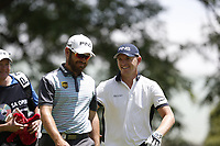 Louis Oosthuizen (RSA) and Matt Wallace (ENG) during the 1st round of the SA Open, Royal Johannesburg &amp; Kensington Golf Club, Johannesburg, Gauteng, South Africa. 6/12/18<br /> Picture: Golffile | Tyrone Winfield<br /> <br /> <br /> All photo usage must carry mandatory copyright credit (&copy; Golffile | Tyrone Winfield)