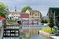 - Milano, la Darsena, antico porto<br /> <br /> <br /> <br /> - Milan, the Darsena, ancient dockyard