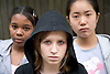Group of teenager girls,
