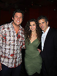 All My Children Ricky Paull Goldin is the host and is joined by AMC Alicia Minshew and husband Richie Herschenfeld as they watch The Bachelor Bob Guiney and Scott Grimes band for a benefit concert for victims of Hurricane Sandy on December 9, 2012 at Prohibition, New York City, New York. The evening started with an open bar and hors d'oeuvres.  (Photo by Sue Coflin/Max Photos)