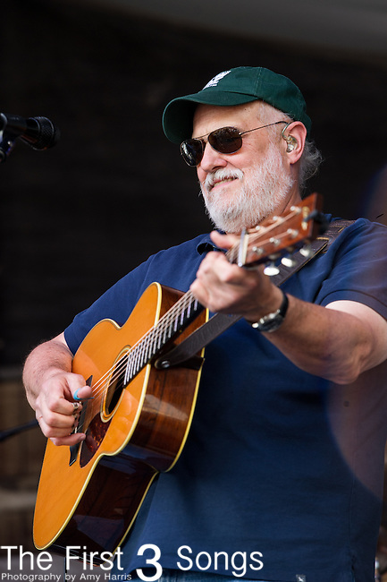 David Doucet of BeauSoleil performs during the New Orleans Jazz & Heritage Festival in New Orleans, LA.