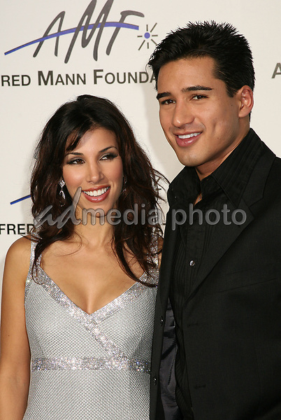 9 September 2006 - Beverly Hills, California. Adrianna Costa and Mario Lopez. 3rd Annual Alfred Mann Foundation Innovation and Inspiration Gala Honoring Richard and Nancy Riordan. Photo Credit: Byron Purvis/AdMedia