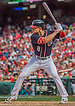 11 September 2016: Washington Nationals infielder Danny Espinosa in action against the Philadelphia Phillies at Nationals Park in Washington, DC. The Nationals edged out the Phillies 3-2 to take the rubber match of their 3-game series. Mandatory Credit: Ed Wolfstein Photo *** RAW (NEF) Image File Available ***