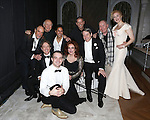 F. Murray Abraham, Playwright Terrence McNally, Martin Short, Maulik Pancholy, Micah Stock, Stockard Channing, producer Tom Kirdahy, Matthew Broderick, director Terrence McNally and Katie Finneran backstage after a performance of 'It's Only A Play' at the Schoenfeld Theatre on January 67, 2015 in New York City.