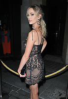 Charli Fisher at the 1883 Magazine Royalty Issue launch party, Cuckoo Club, Swallow Street, London, England, UK, on Thursday 09 August 2018.<br /> CAP/CAN<br /> &copy;CAN/Capital Pictures