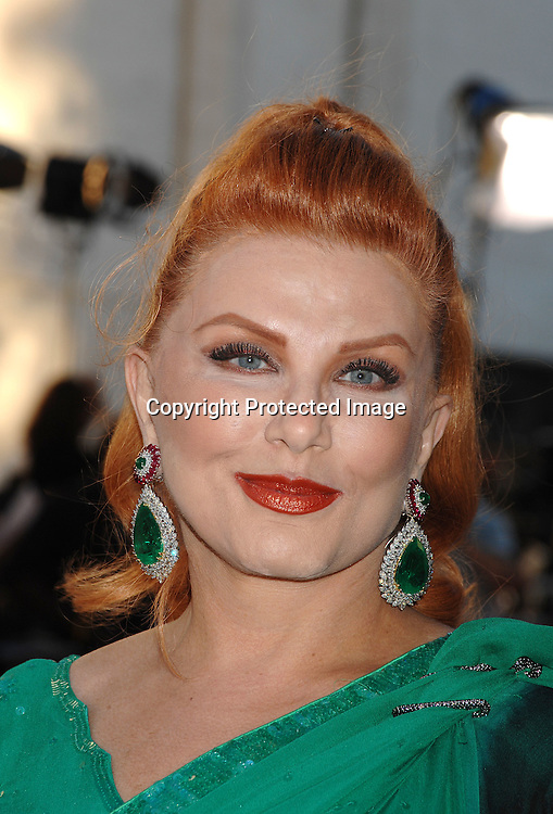 Georgette Mosbacher in Sari..arriving at The Metropolitan Opera 2007-08 Opening Night on September 24, 2007 at The Metropolitan Opera House..in Lincoln Center in New York City. ....photo by Robin Platzer, Twin Images ....212-935-0770
