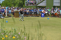 Graeme McDowell (NIR) watches his tee shot on 1 during round 1 of the AT&amp;T Byron Nelson, Trinity Forest Golf Club, at Dallas, Texas, USA. 5/17/2018.<br /> Picture: Golffile | Ken Murray<br /> <br /> <br /> All photo usage must carry mandatory copyright credit (&copy; Golffile | Ken Murray)