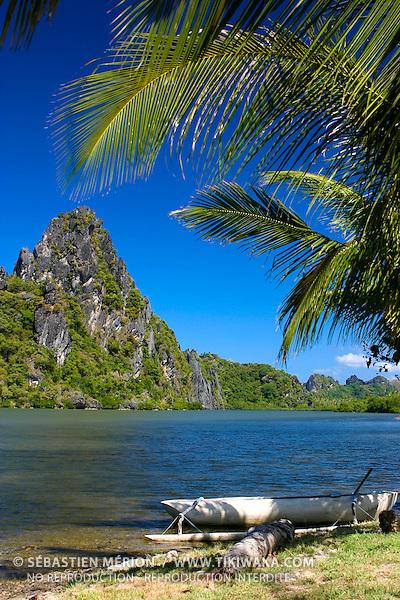 Roches de Lindéralique et sa lagune, Hienghène, Nouvelle-Calédonie