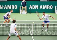 13-02-13, Tennis, Rotterdam, ABNAMROWTT, Thiemo de Bakker / Jesse Huta Galung - Robin Haase