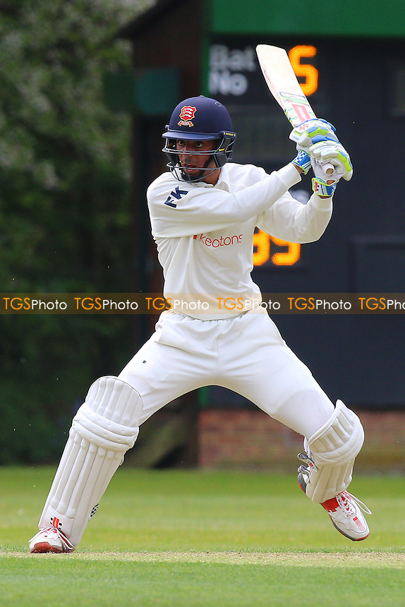 Feroze Khushi in batting action for Wanstead during Wanstead and Snaresbrook CC vs Shenfield CC, Shepherd Neame Essex League Cricket at Overton Drive on 7th May 2016