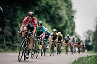 Jens Keukeleire (BEL/Lotto-Soudal)<br /> <br /> Stage 5: Grenoble &gt; Valmorel (130km)<br /> 70th Crit&eacute;rium du Dauphin&eacute; 2018 (2.UWT)