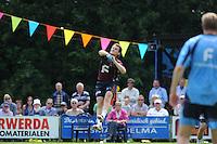 KAATSEN: HUIZUM: Kaatsvereniging O.G. (Onderling Genoegen) Huizum, 22-07-2012, Heren Hoofdklasse Vrije formatie, Taeke Triemstra, ©foto Martin de Jong