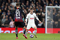 Giovani Lo Celso of Tottenham Hotspur and Patrik Schick of RB Leipzig  during Tottenham Hotspur vs RB Leipzig, UEFA Champions League Football at Tottenham Hotspur Stadium on 19th February 2020