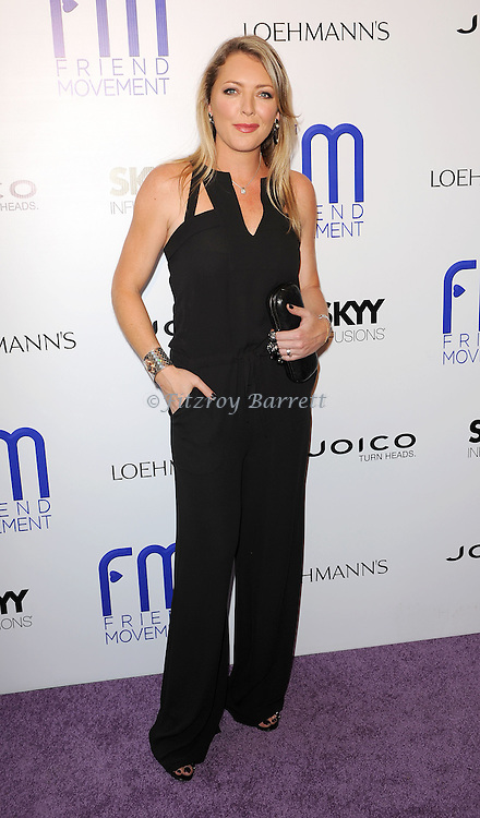 """Kim Marie Penn arriving to the """"Friend Movement Anti-Bullying Benefit  Concert"""" held at the El Rey Theatre in Los Angeles on July 1, 2013."""