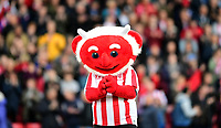 Lincoln City mascot Poacher the Imp<br /> <br /> Photographer Chris Vaughan/CameraSport<br /> <br /> The EFL Sky Bet League Two - Lincoln City v Chesterfield - Saturday 7th October 2017 - Sincil Bank - Lincoln<br /> <br /> World Copyright &copy; 2017 CameraSport. All rights reserved. 43 Linden Ave. Countesthorpe. Leicester. England. LE8 5PG - Tel: +44 (0) 116 277 4147 - admin@camerasport.com - www.camerasport.com