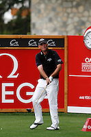 Thomas Bjorn (DEN) on the 2nd during the final day of the Omega European Masters, Crans-Sur-Sierre, Crans Montana, Switzerland.4/9/11.Picture: Golffile/Fran Caffrey..