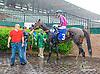 Shatorah winning at Delaware Park on 5/18/15