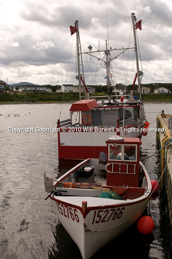 Fishing Boats docked in Rocky Harbour