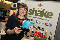 Shake Social Tweeting away at the East Midlands EXPO - The Property & Business Investment Show & The East Midlands Network Trade Fair